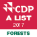 CDP list 2017 forest