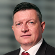 A portrait photograph of Brambles' President, CHEP India, Middle East, Turkey and Africa, Craig Jones