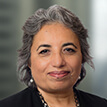 A portrait photograph of Brambles' Non-Executive Director, Tahira Hassan