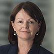A portrait photograph of Brambles' Chief Financial Officer, Nessa O'Sullivan