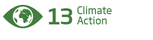 An image of the 13th Sustainability Goal, 'Climate Action'
