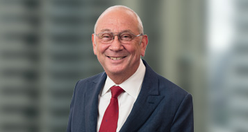 A portrait photograph of Brambles' Non-Executive Chairman, Stephen Johns